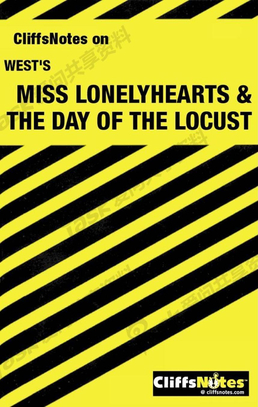 Miss Lonelyhearts & The Day of the Locust.pdf (Cliffs Notes English 原典英语小说学习笔记)