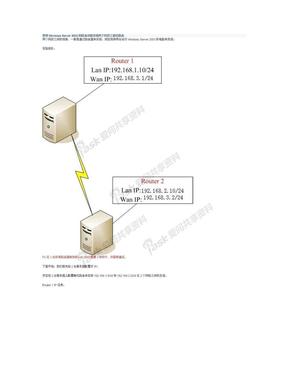 使用Windows Server 2003的路由功能连接两个网段之静态路由.doc