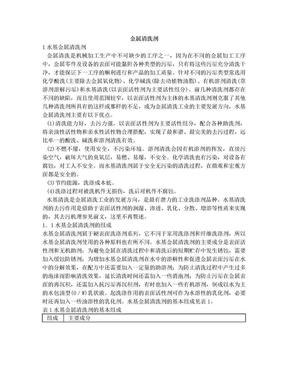 水基型金属清洗剂.doc
