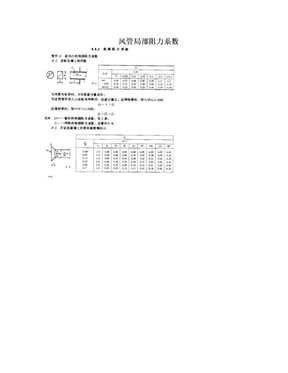 风管局部阻力系数.doc