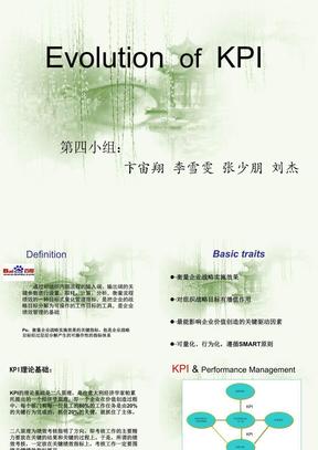 第四组-Evolution of KPI-管理研究方法.ppt