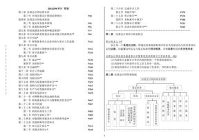 2011年注会CPA--审计笔记.pdf