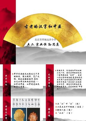 古老的汉字和中医.ppt