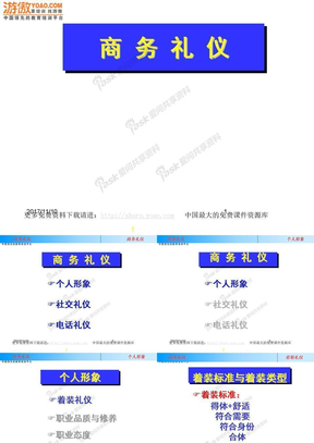 联想公司商务礼仪培训(PPT_50页).ppt