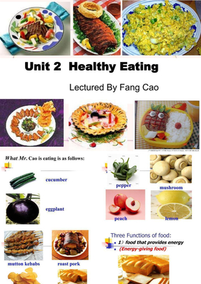 Healthy-eating-公开课-很不错的.ppt