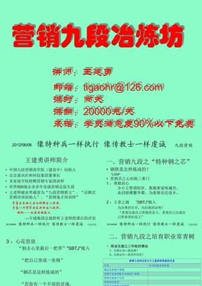 营销九段冶炼坊.ppt