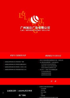 金威新品牌推广策略.ppt