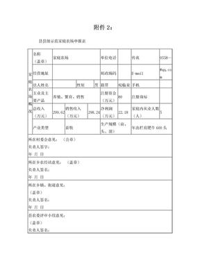 县级示范家庭农场申报表.doc