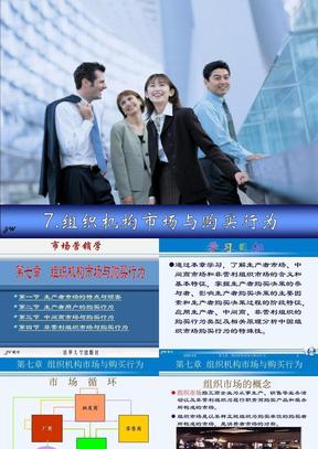 07组织机构市场与购买行为.ppt