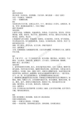 鉴别诊断学汇编中医各病鉴别诊断.doc