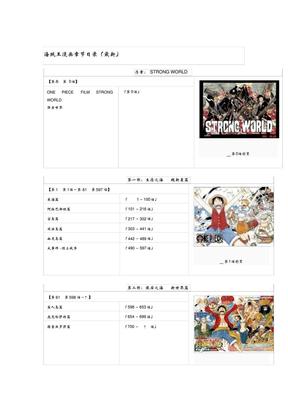 海贼王漫画章节目录.pdf