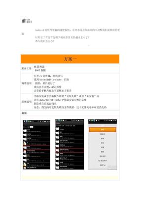 小米手机内存优化.doc