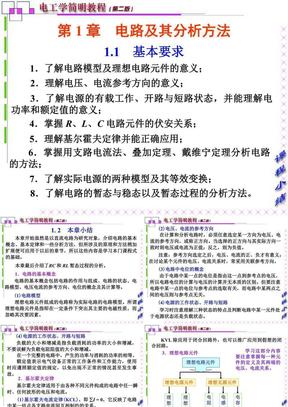 电工学简明教程-第一章总结.ppt