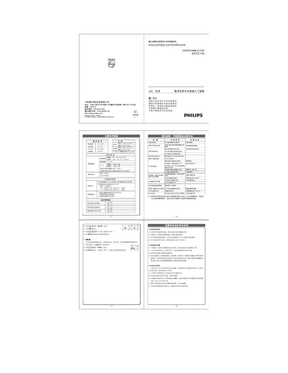 飞利浦无绳电话HWDCD1888(12)TSD(DCTG192)说明书.doc
