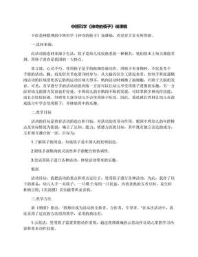 中班科学《神奇的筷子》说课稿.docx