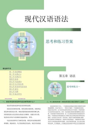 现代汉语语法aa.ppt