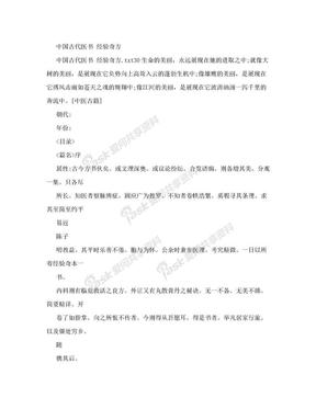 [整理版]中国古代医书 经验奇方.doc