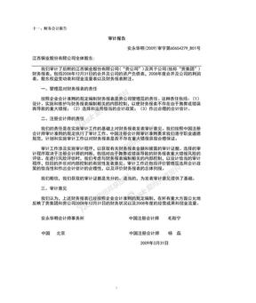 江西铜业2008财务报表.doc