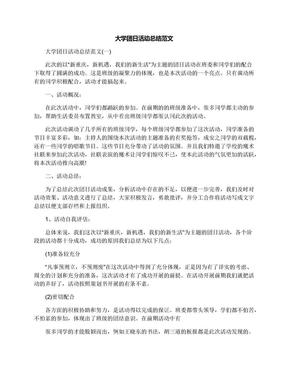 大学团日活动总结范文.docx