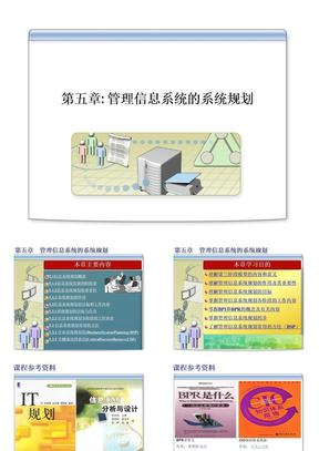 第五章 管理信息系统的系统规划.ppt