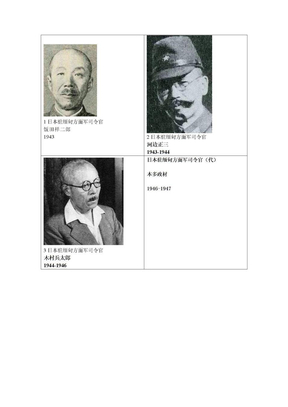 日本驻缅甸方面军司令官.doc
