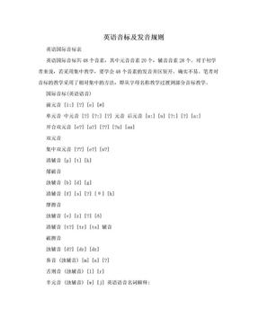 英语音标及发音规则.doc
