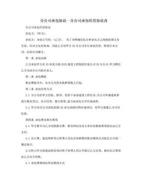 分公司承包协议—分公司承包经营协议改.doc