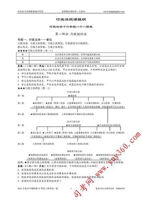 东方法泽强化班林鸿潮行政法讲义.pdf
