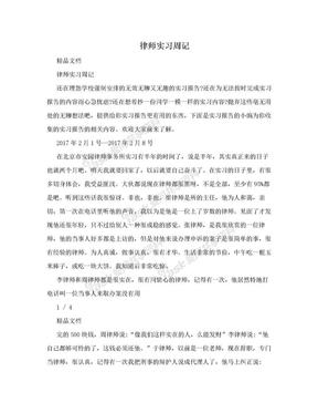 律师实习周记.doc