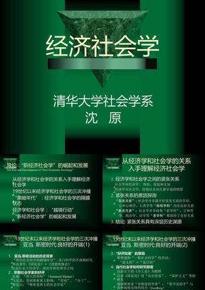 经济社会学-01_新经济社会学的崛起和发展.ppt