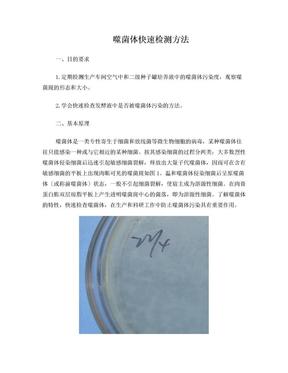 噬菌体的快速检测与防治.doc