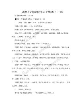 【图解】学董氏奇穴笔记 手部穴位(1--20).doc