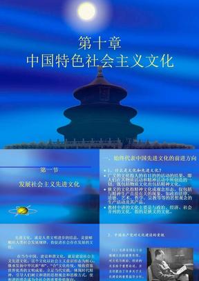 中国特色社会主义文化.PPT