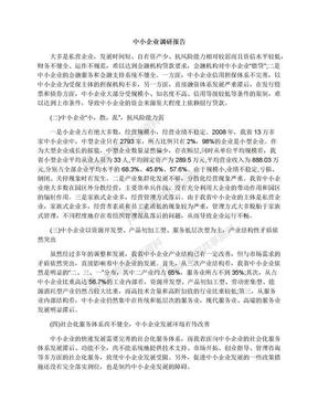 中小企业调研报告.docx