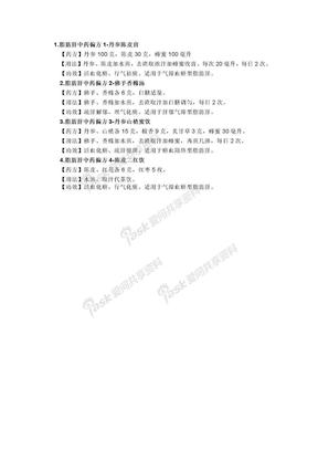 脂肪肝中药偏方.doc