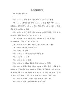 高考英语词汇表.doc