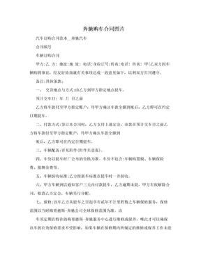 奔驰购车合同图片.doc