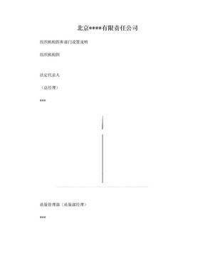 药店组织机构图和部门设置说明.doc