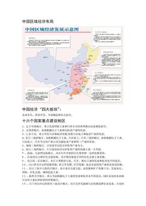 中国区域经济发展布局现状(整理).doc