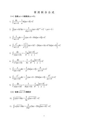 常用积分公式.pdf