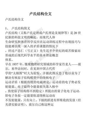 卢氏结构全文.pdf