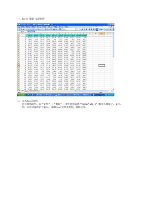 SOP(用spss检验F值的过程).doc