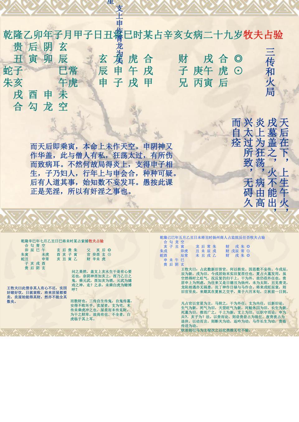 王牧夫六壬案例.ppt