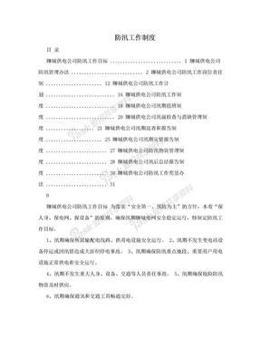 防汛工作制度.doc