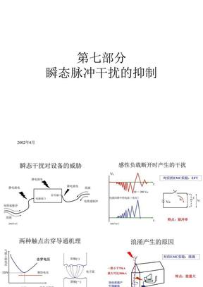 杨继深教授讲稿_电磁兼容培训胶片(瞬态).ppt