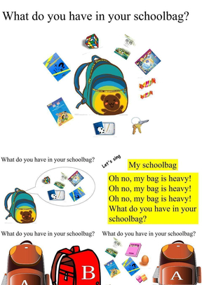 pep四年级上unit2 my schoolbag C story time.ppt