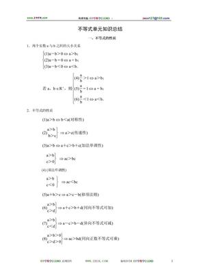 高二数学上册各章节知识点总结(大纲版).doc
