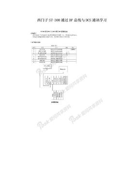 西门子S7-300通过DP总线与DCS通讯学习.doc