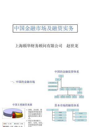 中国金融市场及融资实务-颐华财务顾问赵世龙.ppt