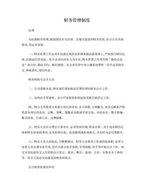 网络有限公司财务制度.doc